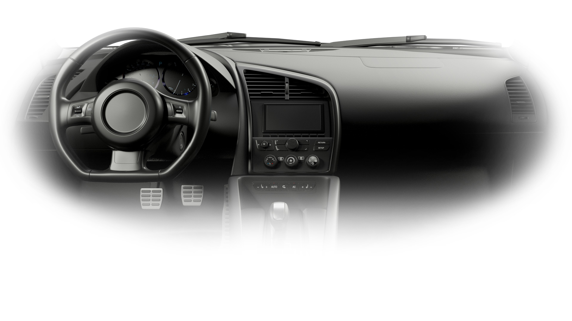 Vehicle interior render slide