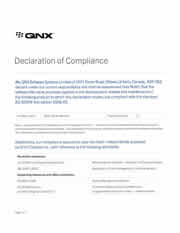 QNX OS for Medical compliance